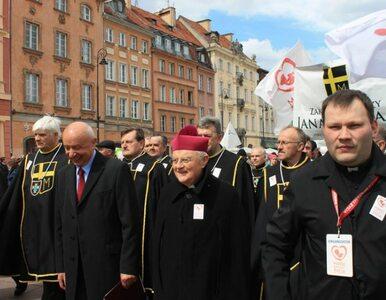 Marsz Świętości Życia przeszedł ulicami Warszawy