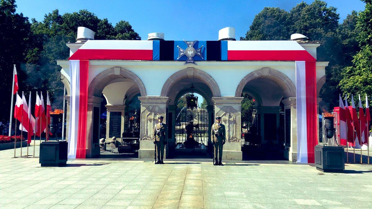 Uroczystości na Placu Piłsudskiego
