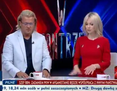 Ogórek w TVP Info kpi z Rusin: Przyjmie dużą afgańską rodzinę... A nie,...
