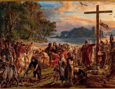 Dziś Święto Chrztu Polski. 1055 lat temu ochrzczony został Mieszko I....