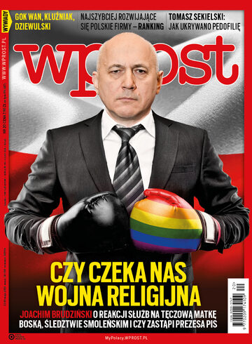 Okładka tygodnika Wprost nr 20/2019 (1885)