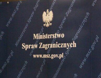 Polskie MSZ zaniepokojone zamieszkami w Kairze