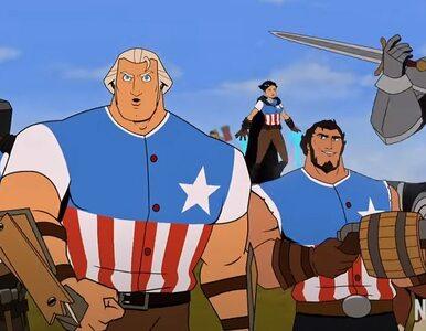 """""""Ding dong, to Ameryka sku******"""". Animowany Waszyngton walczy o USA..."""
