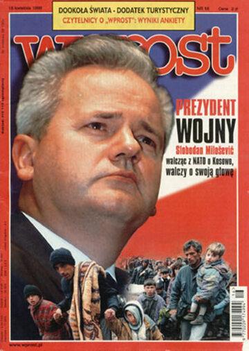 Okładka tygodnika Wprost nr 16/1999 (855)