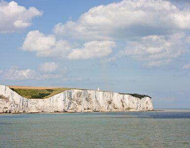 Fragment Białych Klifów runął do morza. Pojawiło się nagranie
