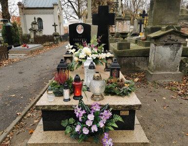 Tak wygląda grób Violetty Villas 10 lat po śmierci artystki
