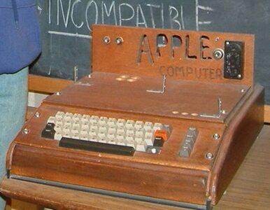 Zabytkowy komputer Apple w śmieciach. Sprzedano go za 200 tys. dolarów