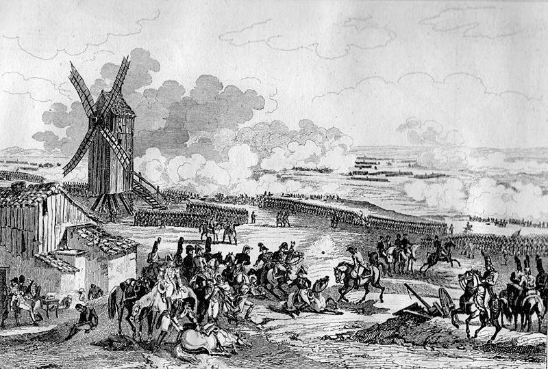20 września 1792. Bitwa pod Valmy. Bitwa, która powstrzymała ofensywę   austriacko-pruską podczas wojny z Francją. (fot. domena publiczna)