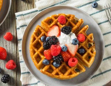 Gofry jaglane – zdrowe i chrupiące śniadanie dla całej rodziny