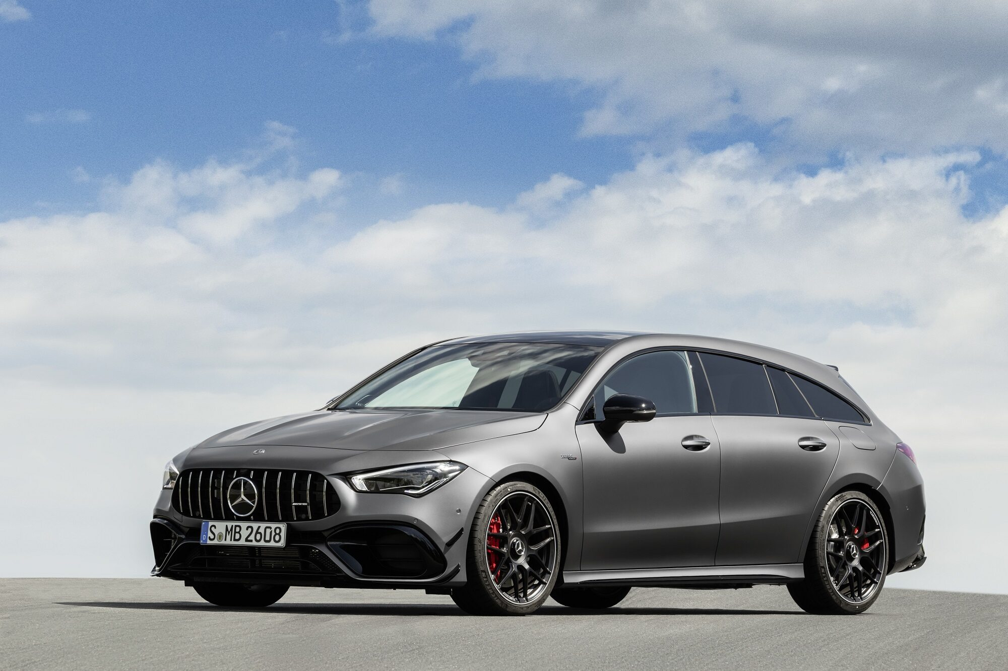 Nowy Mercedes-AMG CLA 45 4Matic+ Shooting Brake