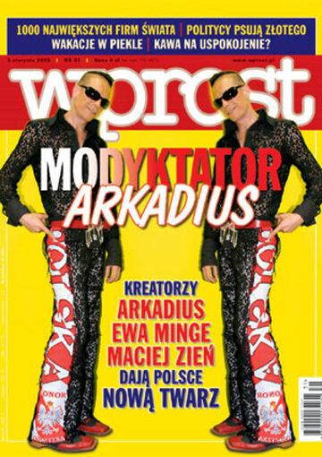 Okładka tygodnika Wprost nr 31/2003 (1079)