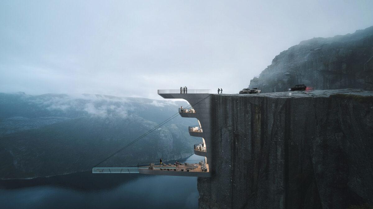Hotel na klifie
