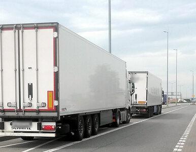 Rosjanin prowadził 40-tonową ciężarówkę. Miał 2,5 promila