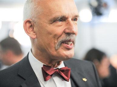 """""""Bezprecedensowo surowa"""" kara dla Janusza Korwin-Mikkego"""