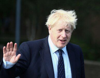 """Boris Johnson skomentował wyrok Sądu Najwyższego. """"Zdecydowanie się nie..."""