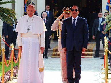 Papież Franciszek w Egipcie zaapelował o powstrzymanie sponsorów terroryzmu