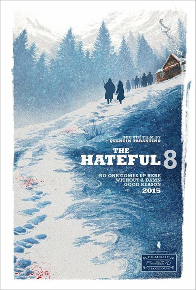 The Hateful Eight -plakat