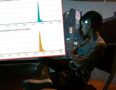 """Cyberpunk 2077 na chwilę """"wykończył"""" serwery platform. Na Steam grało..."""