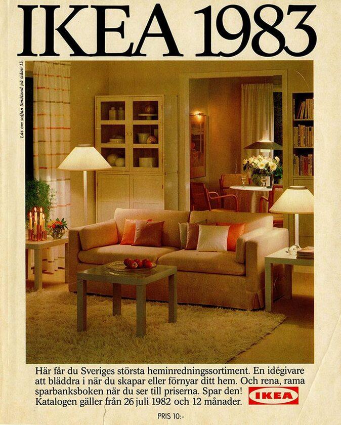 Okładka katalogu IKEA z 1983 roku
