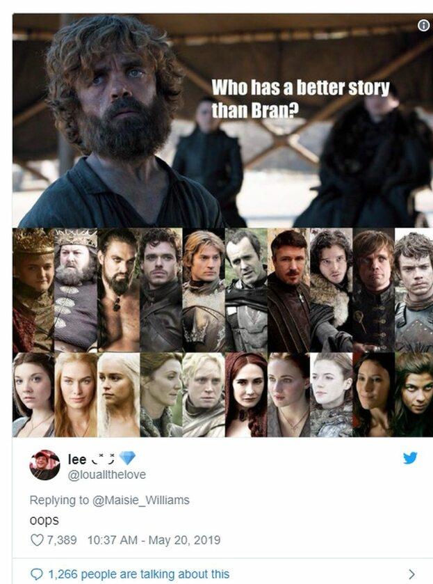 """""""Kto ma lepszą historię niż Bran?"""""""