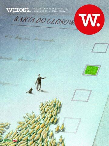 Okładka tygodnika Wprost nr 22/2020 (1938)