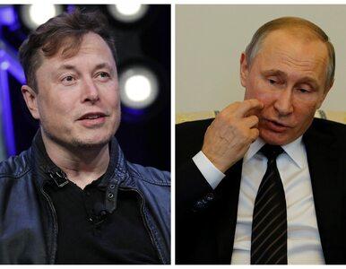 Elon Musk zaprasza Władimira Putina do rozmowy. Wybrał nietypowe miejsce