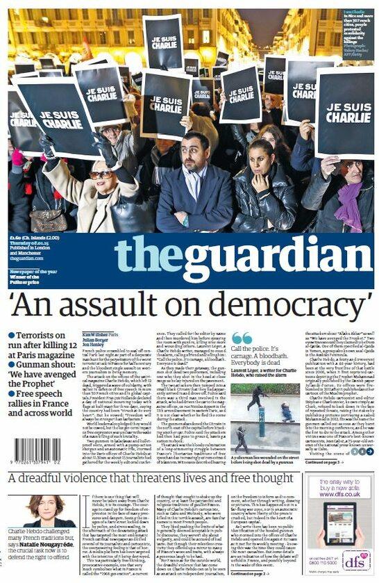"""The Guardian - """"Zamach na demokrację"""""""