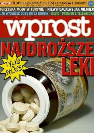 Okładka tygodnika Wprost nr 7/2006 (1210)