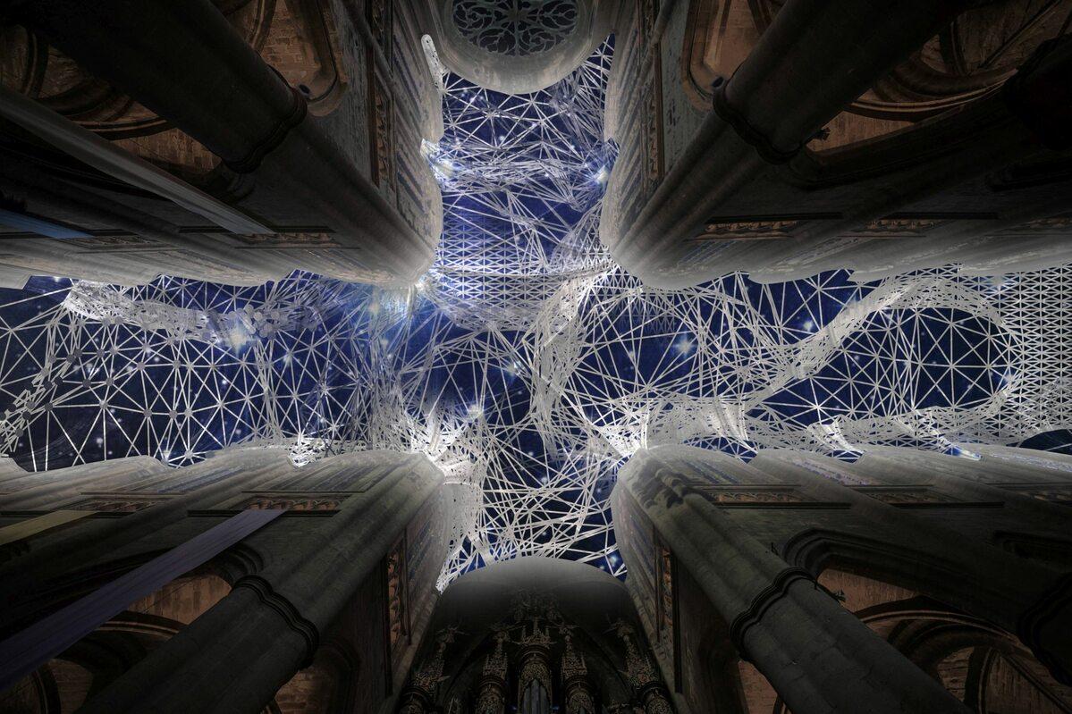 Instalacja autorstwa Miguela Chevaliera