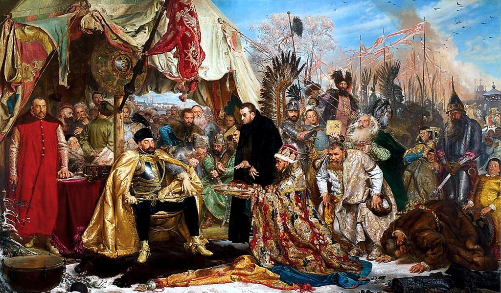 Królem ukazanym na tym obrazie jest: