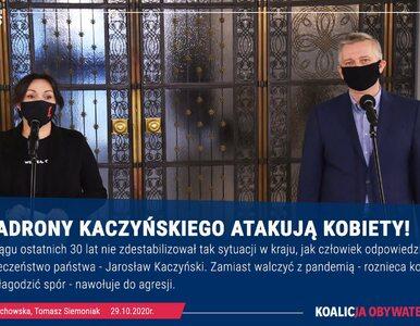 """""""Szwadrony Kaczyńskiego atakują kobiety"""". Wniosek o wotum nieufności"""
