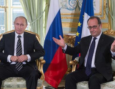 Władimir Putin odwołał wizytę we Francji. Powodem Syria?
