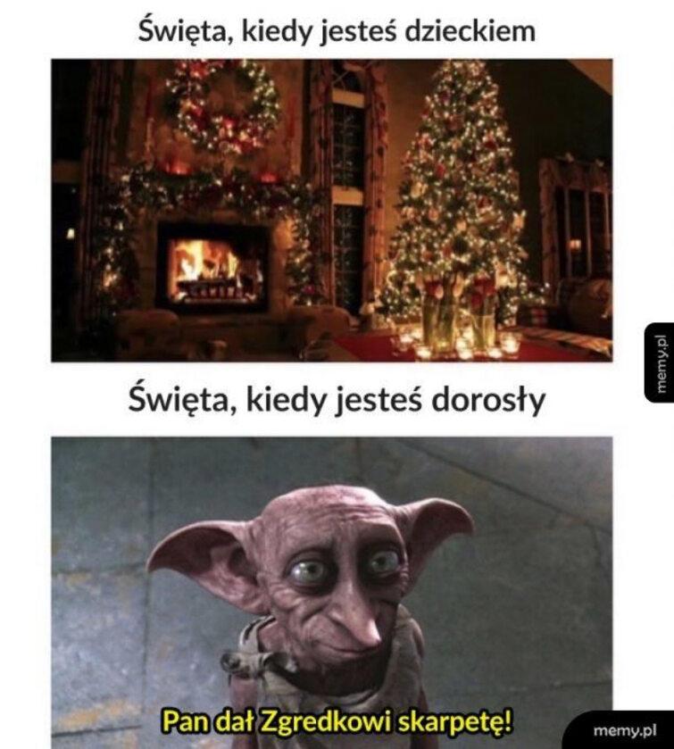 Świąteczny mem