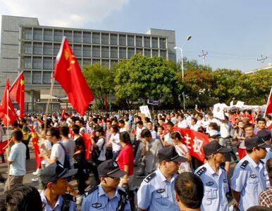 """""""Japonio wynoś się z Chin!"""". Trwają antyjapońskie protesty"""