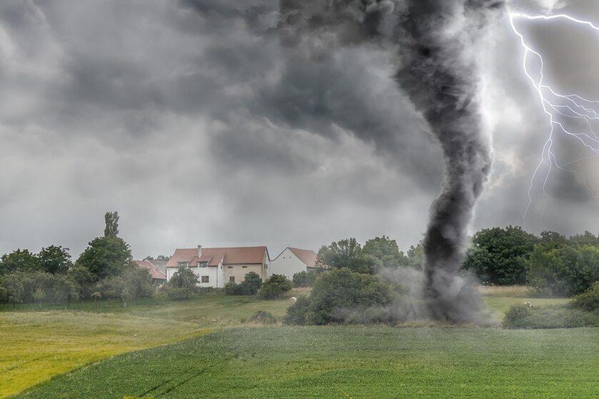 Tornado, zdjęcie ilustracyjne
