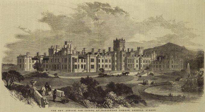 Royal Earlswood Hospital w1854 roku