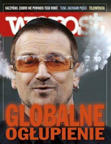 Okładka tygodnika Wprost nr 23/2007 (1276)