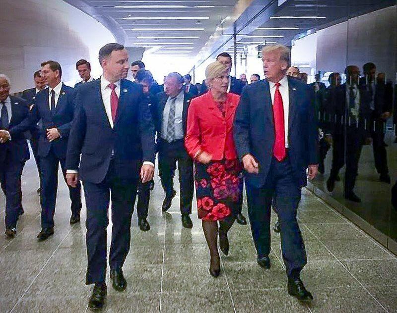 Andrzej Duda na Szczycie NATO w Brukseli