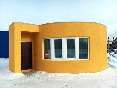 Nietypowy domek niedaleko Moskwy. Został wydrukowany w 3D w 24 godziny