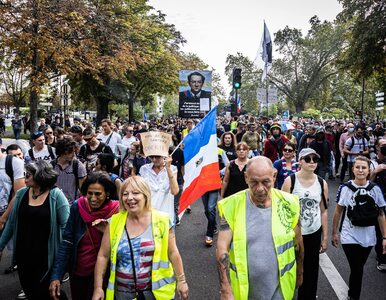 Masowe protesty we Francji. Kilkadziesiąt tysięcy osób przeciw...