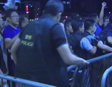 Demonstranci zaatakowani przez mieszkańców Hongkongu