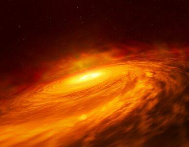 """Dysk wokół """"niedożywionej"""" czarnej dziury. Naukowcy odkryli zjawisko,..."""