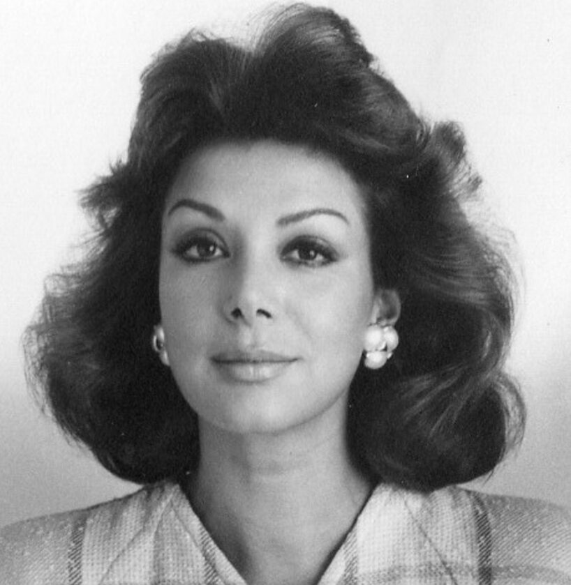 Virginia Vallejo w 1987 roku