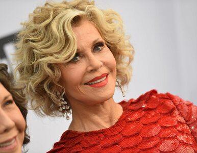 Jane Fonda aresztowana za protest przed Kongresem USA. Do sieci trafiło...