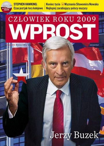 Okładka tygodnika Wprost nr 5/2010 (1409)