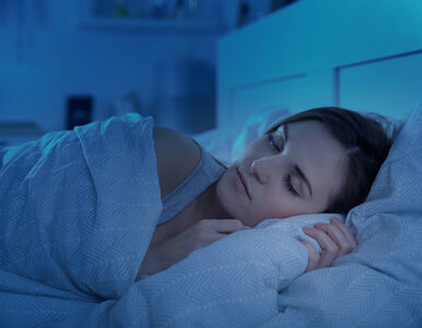 Sen w pomieszczeniu ze światłem = choroby