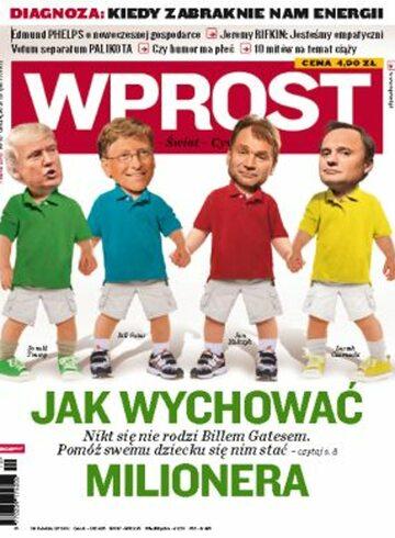 Okładka tygodnika Wprost nr 10/2010 (1414)