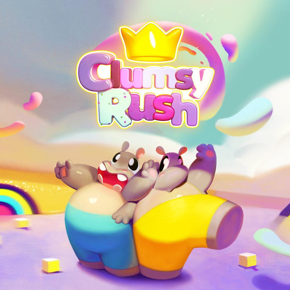 Clumsy Rush - grafika promująca grę