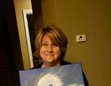 Czyjaś mama namalowała łabędzia. Niespodziewanie wywołała memową rekurencję