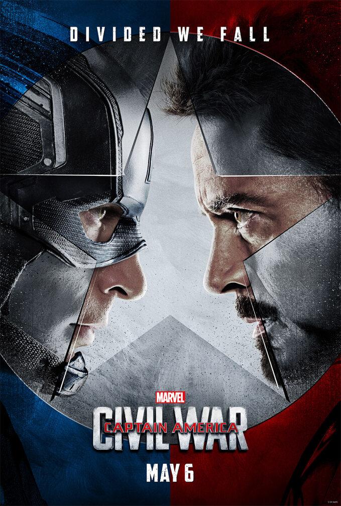 Captain America: Civil War (2016) - plakat